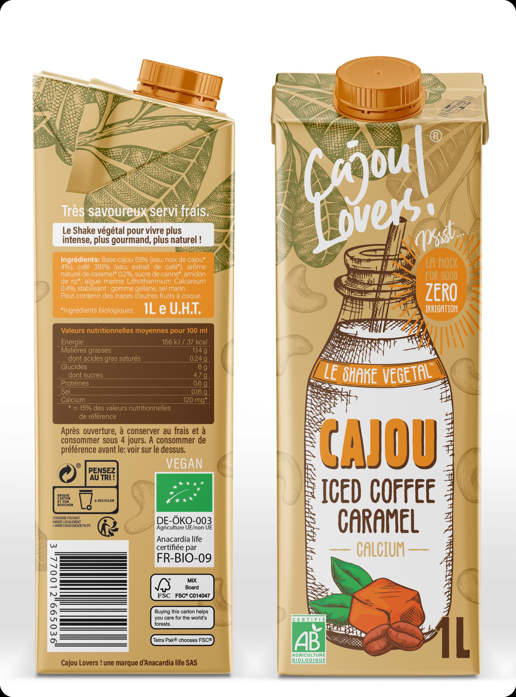 Cajou Lovers : le shake végétal calcium