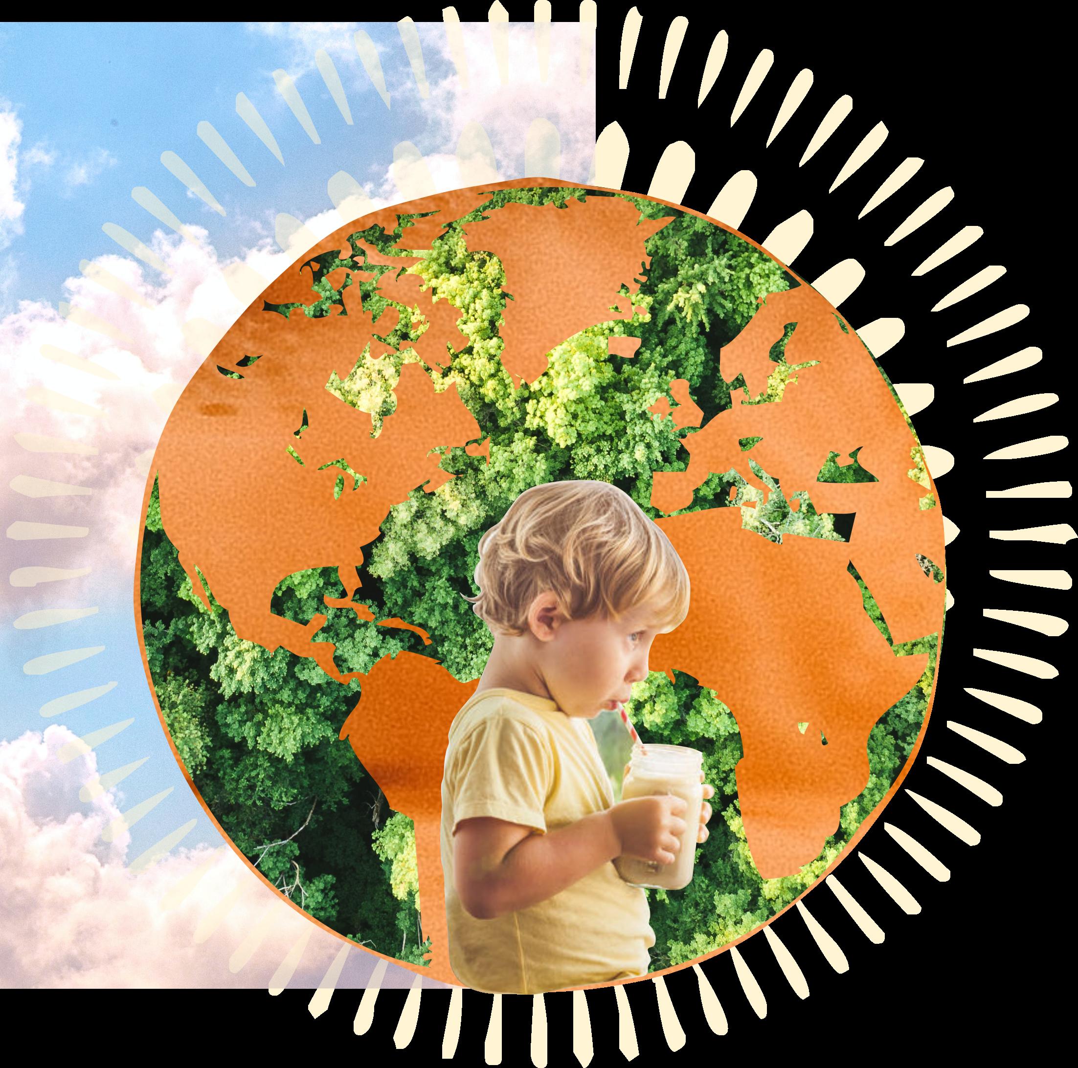 La boisson végétale pour la santé, la planète, les humains